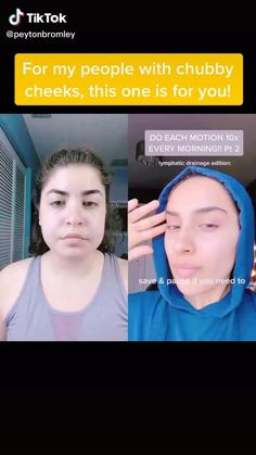 peytonbromly on tik tok ✨, Beauty Tips For Glowing Skin, Health And Beauty Tips, Beauty Skin, Facial Yoga, Healthy Skin Tips, Face Massage, Face Skin Care, Tips Belleza, Skin Care Tips