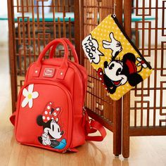 Channel your inner Minnie Mouse | Loungefly Minnie Mouse Retro Mini Backpack