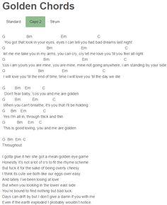 Sia - Reaper Chords Capo 4 | Guitar Lessons | Pinterest | Guitars ...