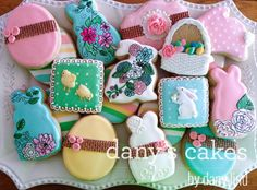 Easter cookies by Dany's Cakes | Cookie Connection