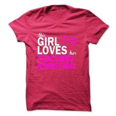 This girl loves her TEACHING ASSISTANT T Shirts, Hoodie Sweatshirts