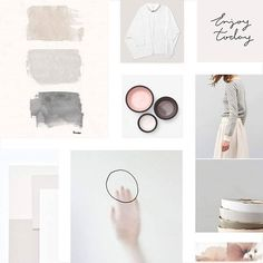 Minimalistic Mood Board #flothemes #pastel #minimalism #minimalistic #moodboard Boutique Design, A Boutique, Inspiration Boards, Design Inspiration, Board Ideas, Collage, White Aesthetic, Aesthetic Pics, Fashion Branding