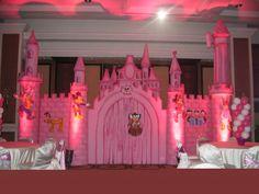 Disney castle @Hayden Gilley outside paper and lights