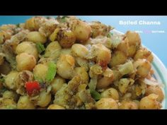 Guyana Boiled Channa (Chick Peas) step by step Video Recipe - YouTube