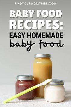 Baby Food Recipes, Baby Food Guide, New Recipes, Freezing Baby Food, Making Baby Food, Baby Puree, Homemade Baby Foods, Meals For One, Introducing Baby Food