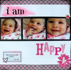 Layout: i am Happy