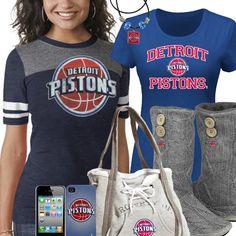 Cute Detroit Pistons Fan Gear