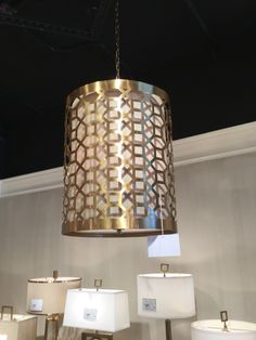 THE #OCTAVIA PENDANT  BY @WILDWOODLAMPS IS IN A BRUSHED ANTIQUE BRASS FINISH AND WOULD FIT COMFORTABLY INTO MANY SPACES AND DECOR STYLES! #LIGHTING #HPMKTSS 2015 FALL