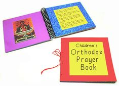 Children's Orthodox prayer book project for ages 5 - 8