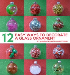 12 Easy Ways To Decorate A Glass Ornament ornament crafts for kids 12 Easy Ways To Decorate A Glass Ornament Snow Ornaments, Easy Ornaments, Kids Christmas Ornaments, Beaded Ornaments, Christmas Crafts, Christmas Ideas, Christmas Garden Decorations, Crafts For Kids, Children Crafts