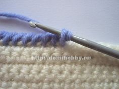 Reverse SC and Reverse Double Crochet - site is in Russian but pics tell the story