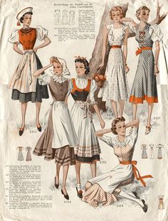 1930s austrian fashion - Google Search