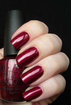 OPI Bogota blackberry...have a teeny bottle of this..need to get a regular size