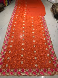 This item is unavailable Embroidery Works, Embroidery Saree, Wedding Sari, Party Wedding, Net Saree, Embroidered Blouse, Valentine Day Gifts, Special Occasion, Bridal Sarees