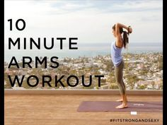 10 Minute Perfect Arms Workout for Spring!