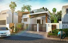 Jehovah Buillders is one of the reputed builders and interior designers in Tamil Nadu. We offer residential flats, villa at an affordable rate all over Tamil Nadu House Outer Design, Single Floor House Design, House Front Design, Front Elevation Designs, House Elevation, Villa Design, Facade Design, House Builders, Indian House