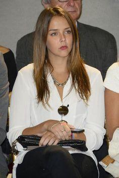 Pauline Ducruet attends the parade Alexis Mabille during Paris Fashion Week, 25 Sep 2013