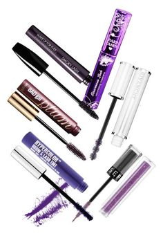The best colored mascaras and how to wear them: purple