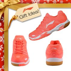 BADMINTON LOVERS GIFT IDEAS! Get them a Christmas gift they will truly LOVE this year like these Li-Ning PREMIUM badminton shoes [Model AYAJ006-1] used by OLYMPIC CHAMPION Li Xuerui! Find them at your local USA and CANADA Dealer or here at www.shopbadmintononline.com/shoes-for-badminton-c-4.html #MakeTheChange!