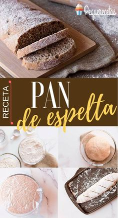 Spelt Flour, Sin Gluten, Pain, Vanilla Cake, Real Food Recipes, Crockpot, Food And Drink, Meals, Cooking
