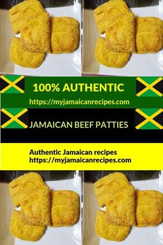 This delicious authentic, flaky, spicy Jamaican beef patty can be eaten as a lunch or snack. Jamaican Cuisine, Jamaican Dishes, Jamaican Recipes, Jamaican Meat Pies, Salt Fish Recipe Jamaican, Indian Food Recipes, Gourmet Recipes, Beef Recipes, Cooking Recipes