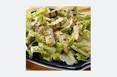 Grilled Dijon Chicken Caesar Salad Recipe
