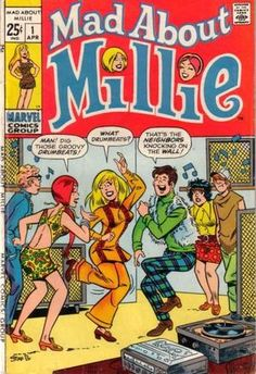 In the early 60s, I loved this Marvel comic book series about a model called Millie Collins.