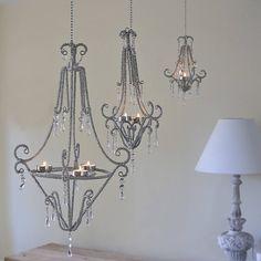 Beaded tealight chandelier chandeliers outdoor chandelier and beaded tealight chandelier aloadofball Gallery