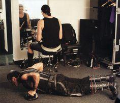 Till Lindemann & Christoph Schneider - Backstage 2011 LIFAD Tour (Rammstein)…