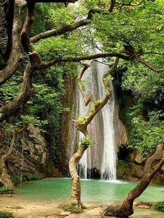 Amazing Waterfalls Around The World- 3 -Neda Waterfalls, Peloponnese, Greece