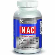 High Quality NAC - 600 mg - 180 Veggie Capsules - by Doctor Recommended Supplements-Supports a Healthy Liver and Overall Health and Immunity -- Details can be found by clicking on the image.