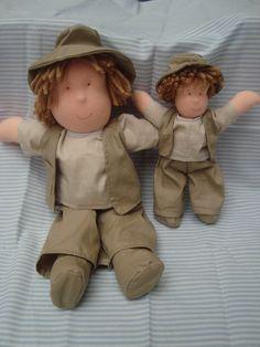 bonecos safari