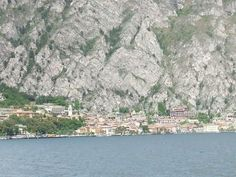 Limone on Lake Garda in Northern Italy