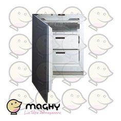 SMEG VR120 congelatore ad incasso - 249,00 € - Solo online: http://www.maghy.eu/grandielettrodomestici/104-smeg_vr120_congelatore.html - Prodotto Nuovo - CLASSE ENERGETICA B - DIMENSIONI: altezza: 58 cm - larghezza: 58 cm - profondità: 54,5 cm