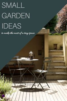 If you're looking for small garden ideas, you've come to the right place. Small gardens, tiny terraces and petite patios may require a little more thought than larger spaces, but even the tiniest plot can be transformed into an elegant outdoor retreat. After all, they do say that good things come in small packages. #small #garden #ideas