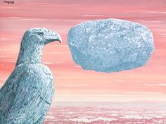 La Connaissance Absolue by René Magritte. signed Magritte and titled on the reverse Gouache on paper 10 by 13 in. 26 by 35 cm Painted circa Tags: Surrealism; Gouache, Statues, Pop Art Movement, Rene Magritte, Virtual Museum, Art Moderne, Love Images, Surreal Art, Renoir