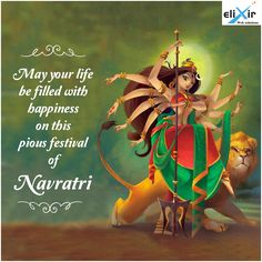 May this joyful festival of #Navratri bring Happiness and prosperity to your business! Wishing you all #HappyNavratri .