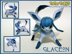 Paperpokés - Pokémon Papercrafts: GLACEON
