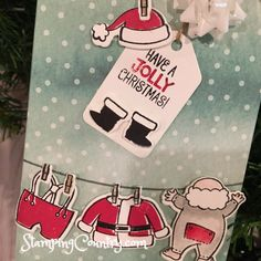 Santa's Suit Stampin' Up! 2017 Holiday Catalog Sneak Peek