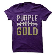 Gear up for football season and celebrate your purple and gold fandom! Perfect for lovers of the Minnesota Vikings, LSU Tigers, UW Huskies, ECU Pirates, and more.