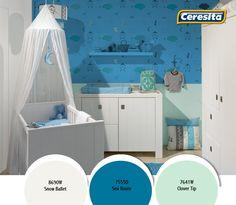 #CeresitaCL #PinturasCeresita #color #decoración #habitación #niños