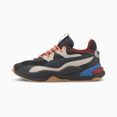 Basket RS-2K RF | Puma Black-Vaporous Gray | PUMA Collection Femme | PUMA France Baskets, Smooth Feet, Unisex, Trainers, Footwear, Sneakers Nike, Comfy, Brand New, Zapatos
