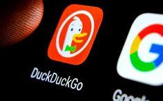 DuckDuckGo, serviciul de căutare care nu colectează date personale, depășește 100 de milioane de căutări pe zi 100 Millions, Google Chrome, Tech Logos, Signal, Barre, Lemon