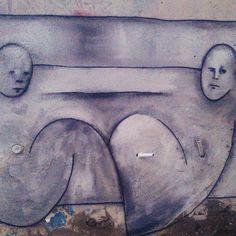 Двое на стене