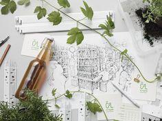 Ölbryggan beer garden by Form Us With Love, Stockholm – Sweden » Retail Design Blog