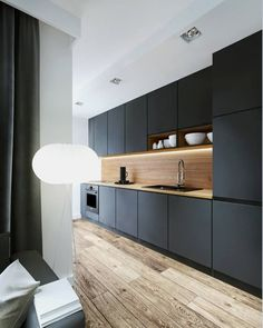 The 12 Best Small Kitchen Remodel Ideas, Design & Photos Browse photos of Small kitchen designs. Discover inspiration for your Small kitchen remodel or upgrade with ideas for storage, organization, layout and decor. Kitchen Layout, Diy Kitchen, Kitchen Interior, Kitchen Decor, Kitchen Ideas, Kitchen Small, Kitchen Wood, Ranch Kitchen, Awesome Kitchen