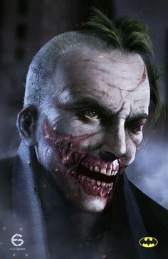 thecyberwolf:  Joker / Dark Times   Created by Edgar Gomez