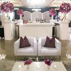 Reception Lounge Area // photo: Amelia Tarbet Photography // Flowers: Petal Pushers More: http://www.theknot.com/weddings/album/a-romantic-and-elegant-wedding-in-austin-tx-131196