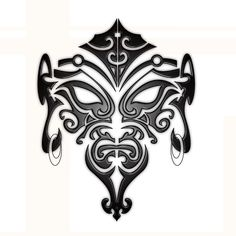 Image Detail for - Maori Face Tattoo by ~B-Rox-U on deviantART