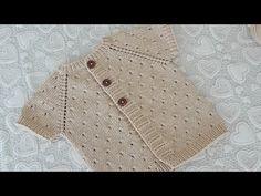 Beymen Erkek Yeleği Yapımı 1 Yaş - YouTube Baby Sweater Knitting Pattern, Baby Knitting Patterns, Sewing Patterns, Casting On Stitches, Baby Barn, Knitted Baby Clothes, Baby Cardigan, Baby Sweaters, Baby Month By Month